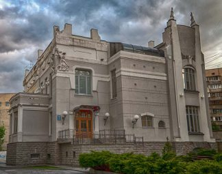 Пример рустованных фасадов в Киеве. Строительные профили и уголки в интернет-магазине А2+-2