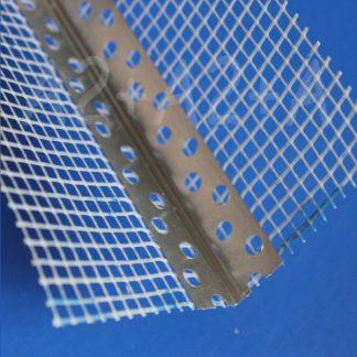 Профиль угловой с армирующей сеткой7х7 мм 125 г/м² 3,0 м алюминий | низкая цена в Киеве | интернет-магазин А2+