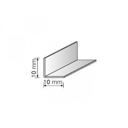 Уголок пластиковый декоративный белый 10х10 мм , 2,75 м| низкая цена в Киеве | интернет-магазин А2+-1
