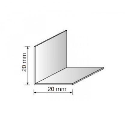 Уголок защитный пластиковый белый 20х20 мм , 2,75 м| низкая цена в Киеве | интернет-магазин А2+-1