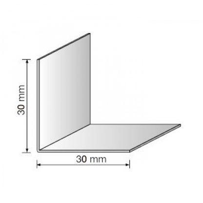 Уголок пвх цветной белый 30х30 мм , 2,75 м| низкая цена в Киеве | интернет-магазин А2+-1