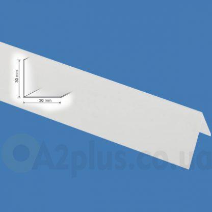 Уголок пвх цветной белый 30х30 мм , 2,75 м| низкая цена в Киеве | интернет-магазин А2+