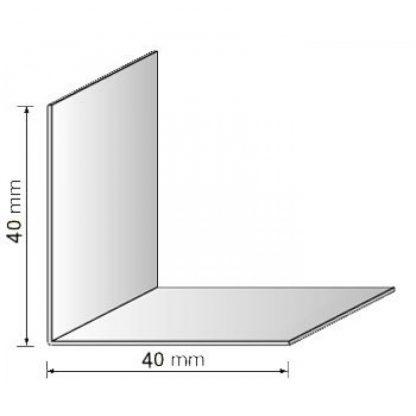 Уголки для откосов цена белый 40х40 мм , 2,75 м| низкая цена в Киеве | интернет-магазин А2+-1