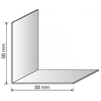 Уголки для окон белый 50х50 мм , 2,75 м| низкая цена в Киеве | интернет-магазин А2+