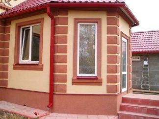 Декор фасада лепниной. Строительные уголки и профили в интернет-магазине А2+ -1