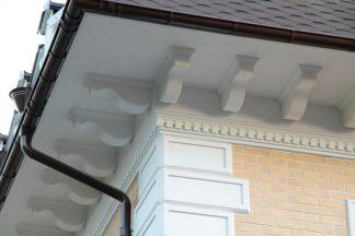 Декор фасада лепниной. Строительные уголки и профили в интернет-магазине А2+ -2