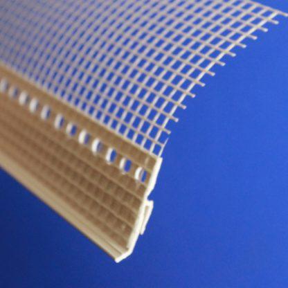 Накладка капельник для цокольного профиля 2,0 м с сеткой ◼ фото