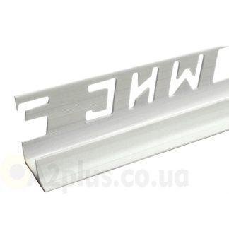 Профиль для плитки внутренний белый 7 8 9 мм, 2,5 м | низкая цена в Киеве | интернет-магазин А2+