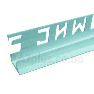 Профиль для укладки плитки внутренний голубой 7 8 9 мм, 2,5 м | низкая цена в Киеве | интернет-магазин А2+