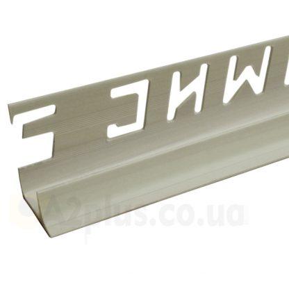 Профиль для плитки внутренний серый 7 8 9 мм, 2,5 м | низкая цена в Киеве | интернет-магазин А2+