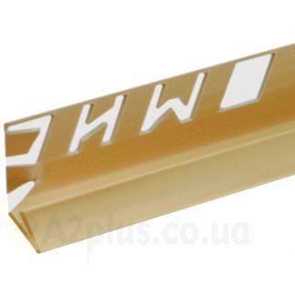 Профиль для плитки внутренний слоновая кость 7 8 9 мм, 2,5 м | низкая цена в Киеве | интернет-магазин А2+