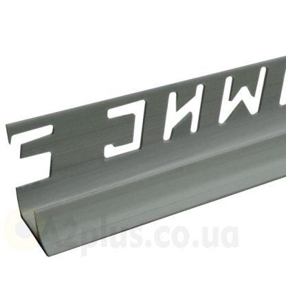 Профиль для плитки внутренний темно-серый 7 8 9 мм, 2,5 м | низкая цена в Киеве | интернет-магазин А2+