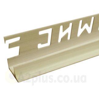 Профиль для укладки плитки внутренний темный беж 7 8 9 мм, 2,5 м | низкая цена в Киеве | интернет-магазин А2+
