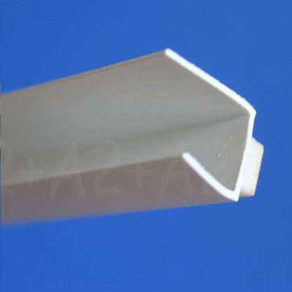 Профиль оконного примыкания белый 6 мм 2,5 м 6 мм ◼ фото