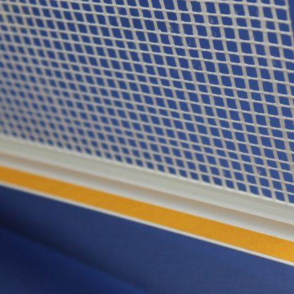 Профиль оконного примыканиябелый 6 мм с сеткой6 мм ◼ фото -3