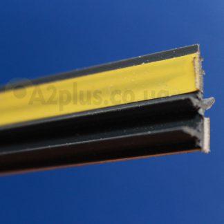 Профиль оконного примыкания графит6 мм 2,5 м 6 мм ◼ фото