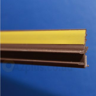 Профиль оконного примыкания коричневый6 мм 2,5 м 6 мм ◼ фото
