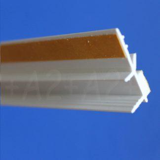 Профиль оконного примыкания белый 6 мм 2,5 м 6 мм ◼ фото -3