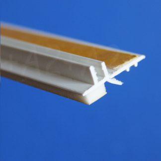 Профиль оконного примыкания белый 6 мм 2,5 м 6 мм ◼ фото -2