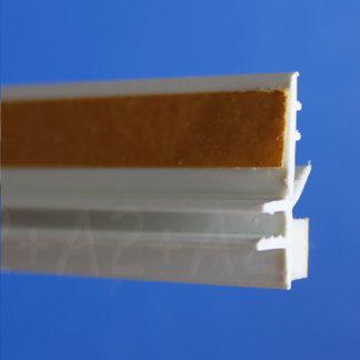 Профиль оконного примыкания белый 6 мм 2,5 м 6 мм ◼ фото -1