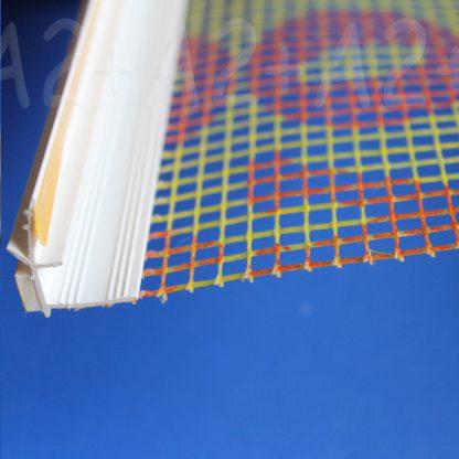 Профиль примыкания оконныйсо стеклосеткой| низкая цена | А2+-2