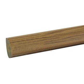 Угловой штапик дуб 10х10 мм, 2,75 м| низкая цена в Киеве | интернет-магазин А2+