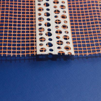 Уголок перфорированный универсальный 15 мс сеткой 10х10 мм 160 г/м² 23х23 ◼ фото
