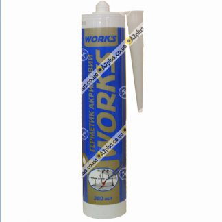 Герметик акриловый белый , 420 гр | низкая цена в Киеве | интернет-магазин А2+