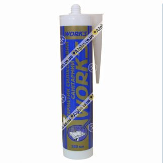 Герметик санитарный силиконовый белый , 280 мл | низкая цена в Киеве | интернет-магазин А2+
