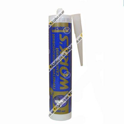 Герметик санитарный силиконовый прозрачный , 280 мл | низкая цена в Киеве | интернет-магазин А2+